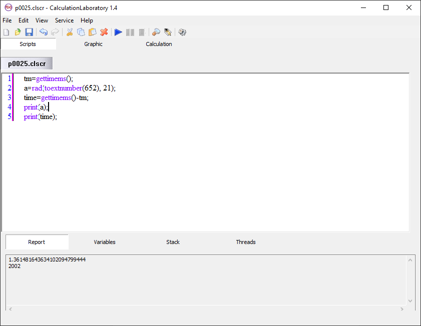 CalculationLaboratory screenshot
